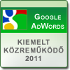 Google AdWords kiemelt kzremkd 2011